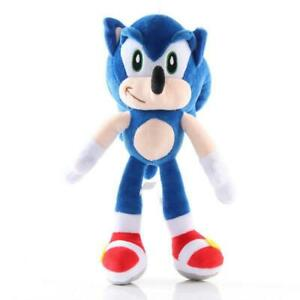 8 In Sonic the Hedgehog Blue Plush Doll Stuffed Animal Plushie Soft Toy Gift