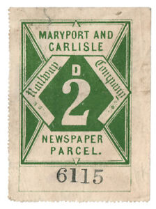 I-B-Maryport-amp-Carlisle-Railway-Newspaper-Parcel-2d