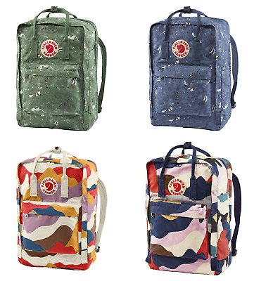 "Fjallraven Kanken Art 17/"" Laptop Backpack Green Fable SALE"