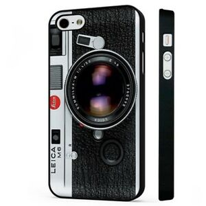 purchase cheap d6f55 9e208 Details about Vintage Leica Camera Photography BLACK PHONE CASE COVER fits  iPHONE