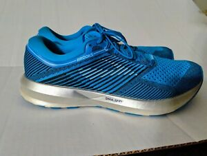 low priced b3aaa a05c7 Details about BROOKS LEVITATE DNA AMP Running Shoe size 11B US EUR 43  Blue/Silver