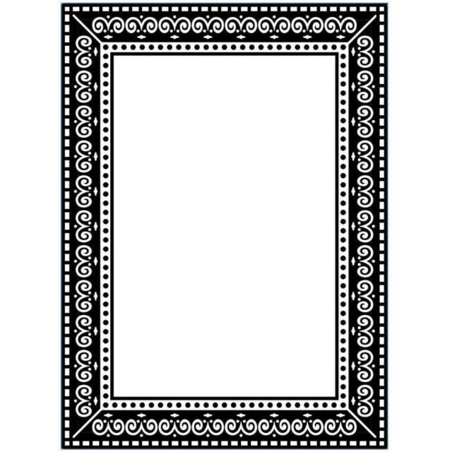 Darice Embossing Folder Photo Frame Picture A2 1219-115 | eBay