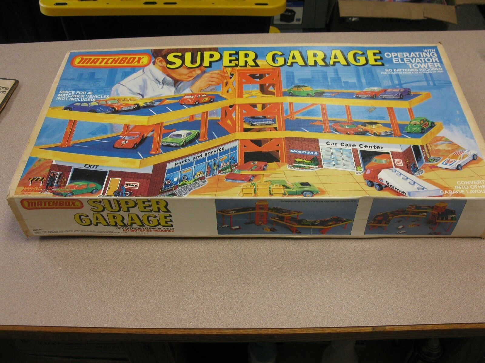 1978 Matchbox Lesney Products. Vintage súper garaje