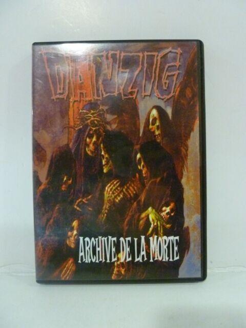DANZIG  - archive de la morte -  Regain records - DVD