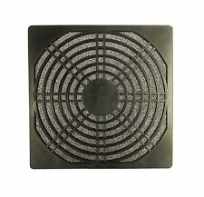 140mm New Removable Foam Fan Filter Assembly Plastic Black 1051*
