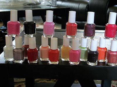LOT OF10 full size bottles of Essie nail polish 0.5 fl oz  you pick ur own color