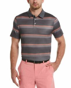 Pga Tour Men's Big & Tall Gradient-Stripe Golf Polo Shirt 4XL   eBay