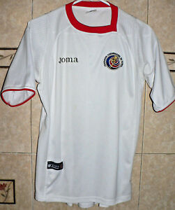 new style de66b 7ee21 JOMA COSTA RICA NATIONAL SOCCER AWAY TEAM WHITE JERSEY ...