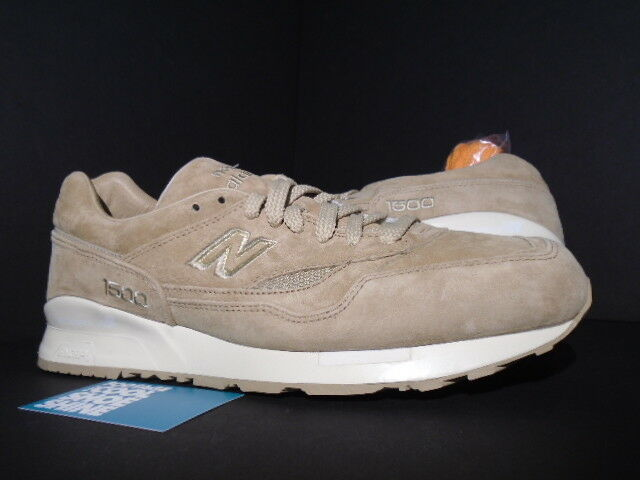 2013 NEW BALANCE CM1500UA 1500 UNITED ARROWS BEIGE BROWN TAN WHITE gold NEW 12