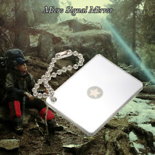 Outdoor Micro Star Signal Mirror Survival Emergency Rescue Signaling QAAC K9V7