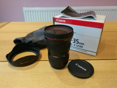 1 of 1 - Canon EF 16-35mm F2.8 L II USM Lens | Perfect Condition | All Original Packaging
