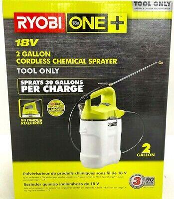 RYOBI ONE Chemical Sprayer 18-Volt Lithium-Ion Cordless 2 Gallon Tool Only