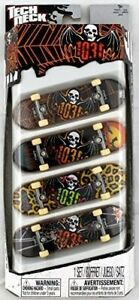 Lot-de-4-TECH-DECK-Skateboard-neuf