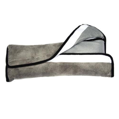 Sicherheits-Gurtpolster Autogurtpolster Schulterpolster Kind Schlafkissen Grau