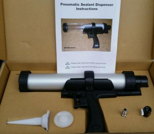 300 ML Airflow Comprimé Pneumatique Pistolet à Cartouche Seringue en Silicone