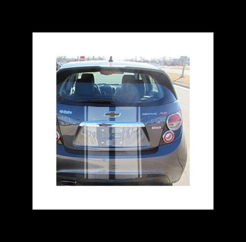 Hatchback Rally Style Stripe Stripes Fit  11 2012 2013 14 15 17 Chevy SONIC AVEO