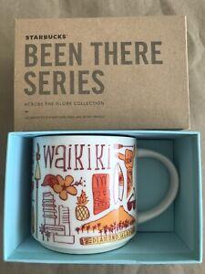 Starbucks Coffee Been There Series Mug WAIKIKI Hawaii Cup 14 oz NIB & w/SKU