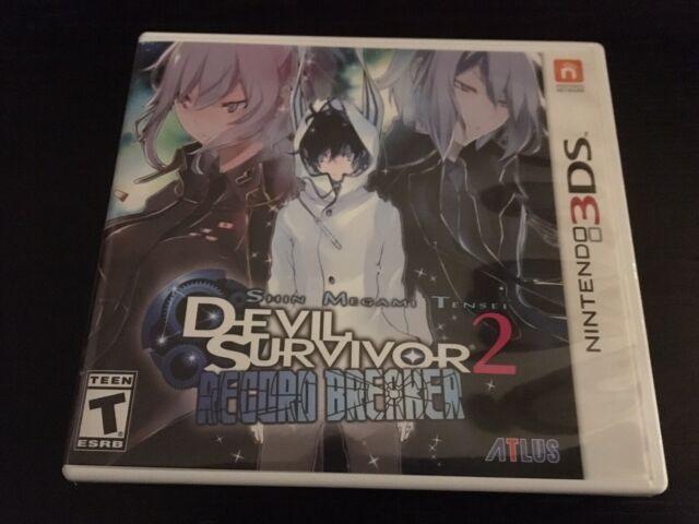 COMPLETE Shin Megami Tensei: Devil Survivor 2 Record Breaker (3DS, 2015)