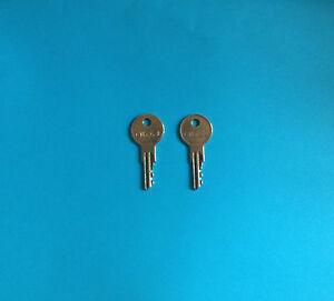 2-Trimark-Motorhome-Precut-Code-Key-CH751-Travel-Trailer-Camper-RV-Lock-Keys