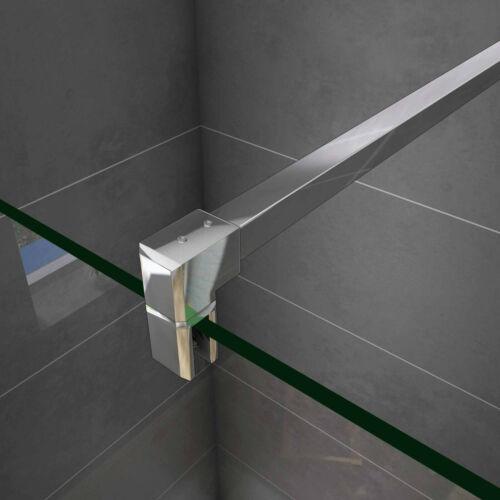 185+190+195x70-100cm Walk in ESG Glas Duschwand Duschabtrennungen Duschkabine