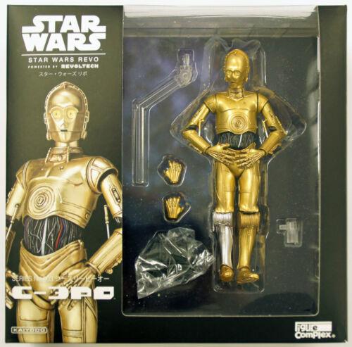 Kaiyodo Star Wars Revo Figure 003 C-3PO C3PO Series No Revoltech