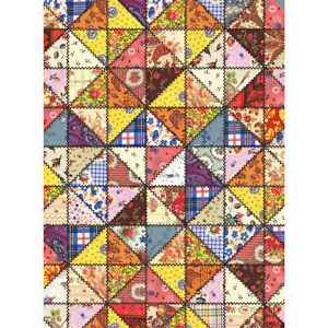 Rice Paper For Decoupage Made In Russia Cleaning The Oral Cavity. Patchwork Pattern 11.1x15.11 In