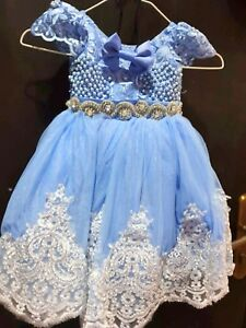 Baby Girl Party Dresses 9 12 Months Ebay
