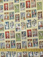 Cartas De Vida Ivory By Alexander Henry Cotton Fabric By The Yard Diy Clothing