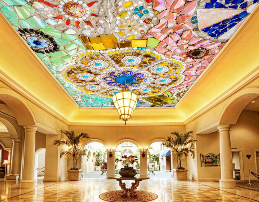 3D Farbeed Gems Floral 783 Wall Paper Wall Print Decal Wall Deco AJ WALLPAPER