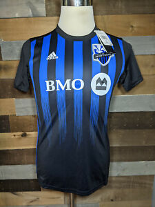 Details about NWT Women's adidas Impact Montreal Home Jersey MLS Soccer Jersey Sz Small
