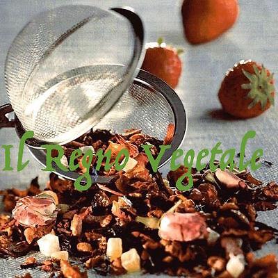 TE INFUSO di Frutta ZENZERO MIX Zenzero+Mango+Ananas+RosaCanina+Mela VIROPA 100g