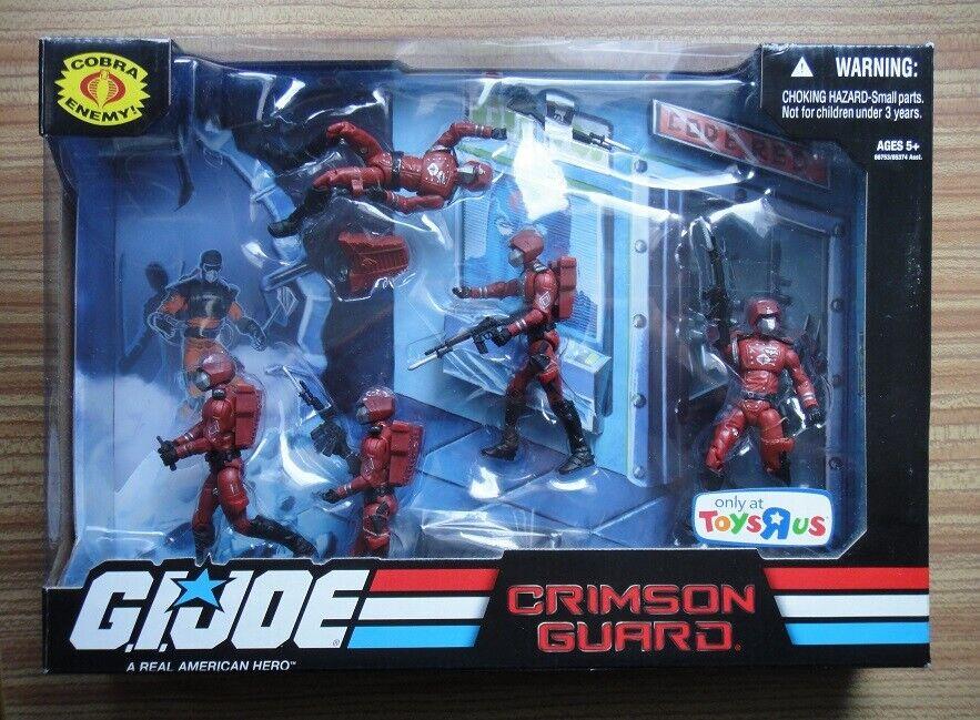 Juguetes R exclusivo – G.I. Joe Cobra Us Crimson Guardia Set Figuras De Acción – Sellado
