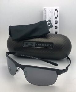 5052b623822 Image is loading Polarized-OAKLEY-Sunglasses-CARBON-BLADE-OO9174-03-Black-