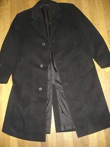 Hugo-Boss-manteau-100-pure-laine-vierge-taille-52-54-FR-modele-de-Tomaso