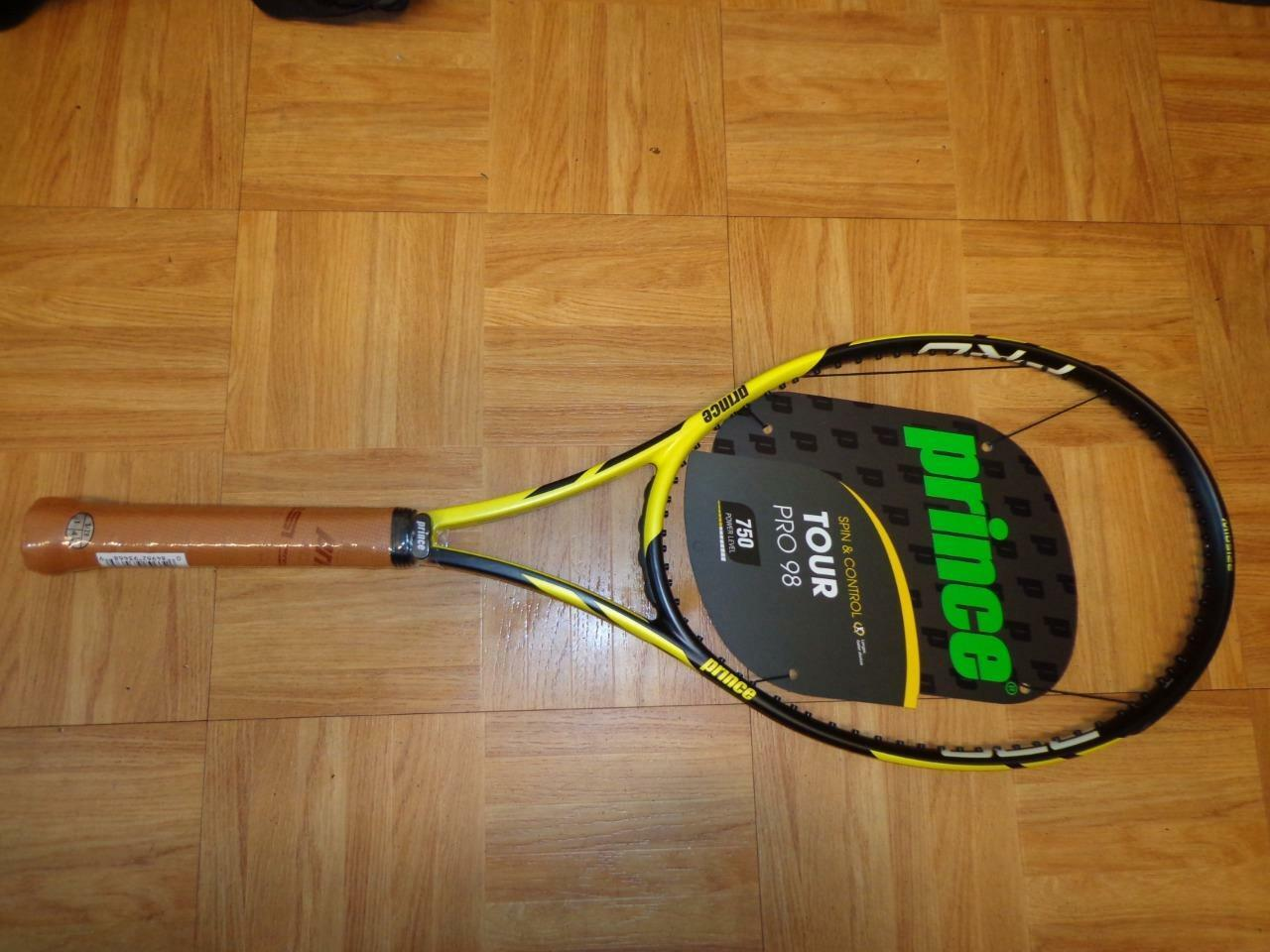 NEW PRINCE Tour PRO 98 750 Power level 18x20 10.8oz 4 3 8 grip Tennis Racquet