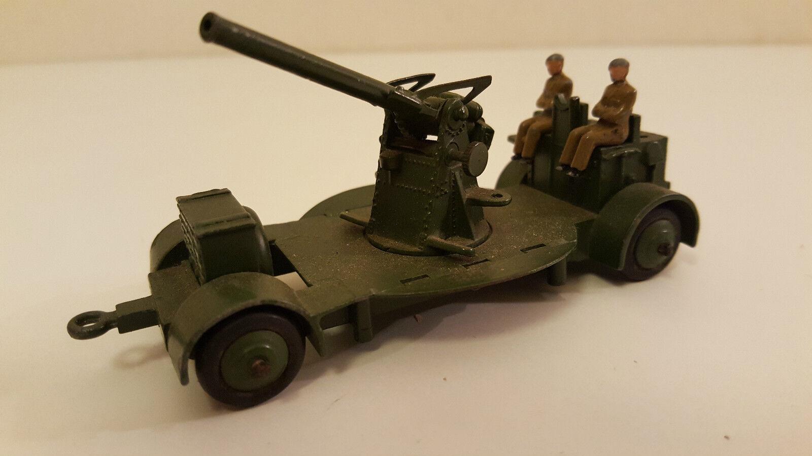 Dinky toys - 161 b 690 us - a a gun on trailer (canon dca anti air)