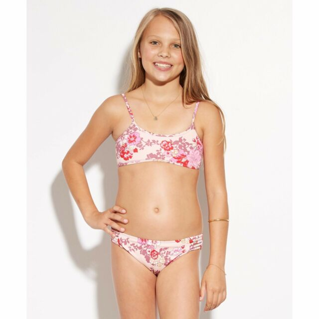 2016 Youth Girls Billabong Bahama Mama Athletic Bra ...