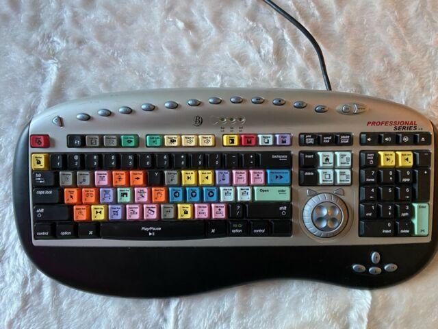 Bella Pro 5202 3 0 Pro Series Keyboard Final Cut Pro For Sale Online Ebay