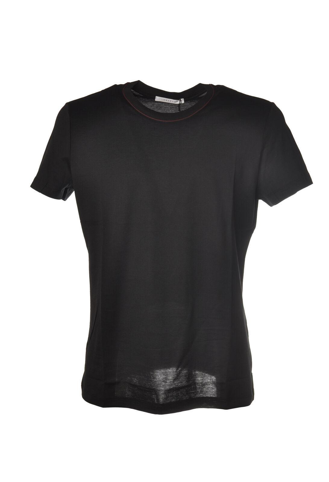 Low Brand - Topwear-T-shirts - Uomo - Nero - 5661409L184720