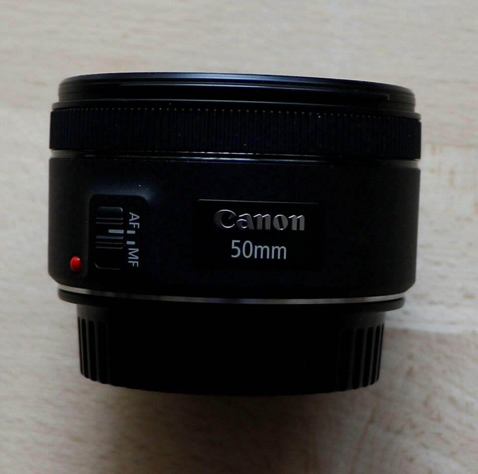 Fast, Canon, 50 mm 1:1,8STM