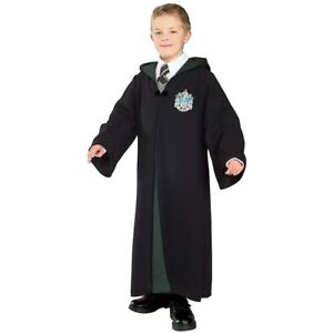 Slytherin-Robe-Harry-Potter-Hogwarts-Fancy-Dress-Halloween-Deluxe-Child-Costume