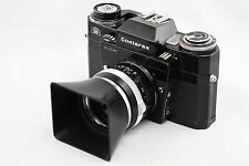 *RARE* Contarex Super Black Camera Body + Zeiss Tessar 50mm f2.8 lens 50/2.8