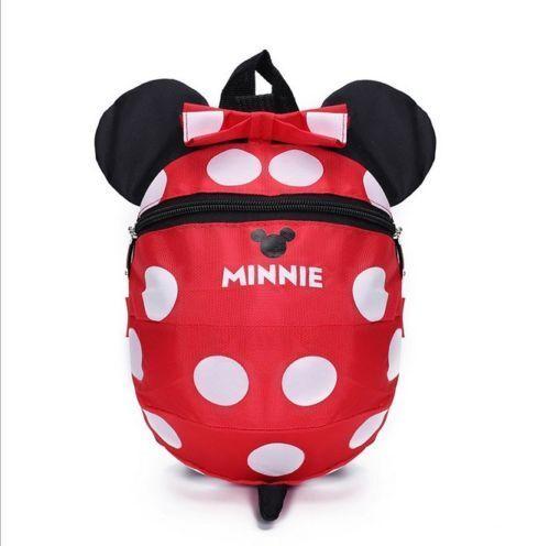 Big Size Kindergarten Boys//Girls Mickey Mouse Baby Kids Book Bags Backpacks 3-6Y