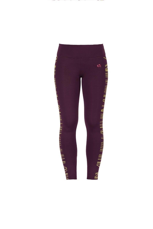 E9 Leg Tape Women's Pant Leggings Elastic Women's Pants Purple
