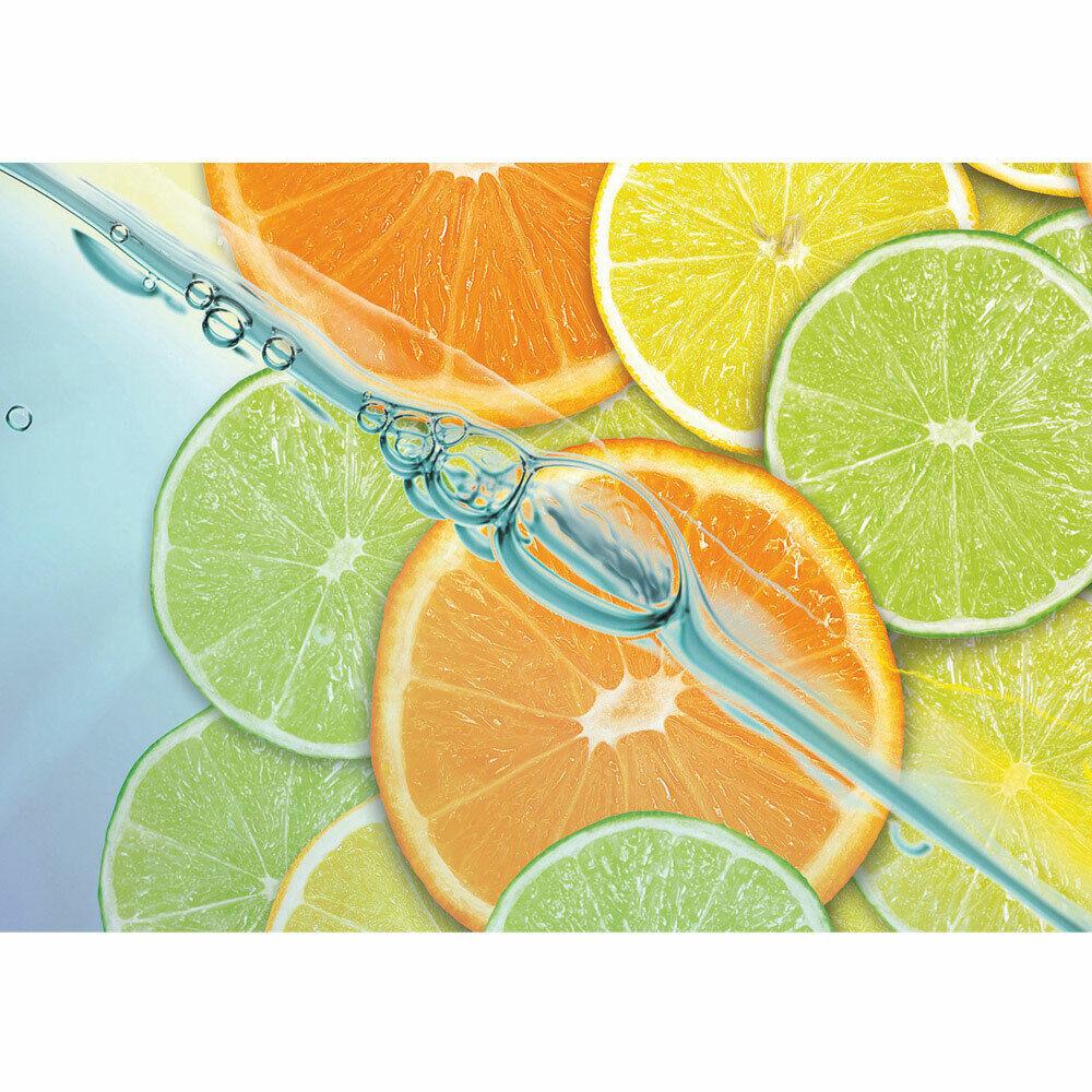 Photo Wall Paper Lime orange Lemon Lemon Liwwing No. 296