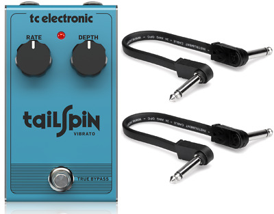 New TC Electronic Shaker Mini Vibrato Guitar Effects Pedal Fender Patch Cables