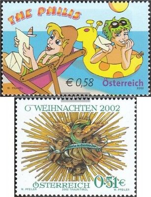 complete Issue Painstaking Austria 2400,2401 Used 2002 Special Stamps Selected Material