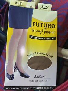FUTURO Energizing Ultra Sheer Pantyhose Mild M Nude (2