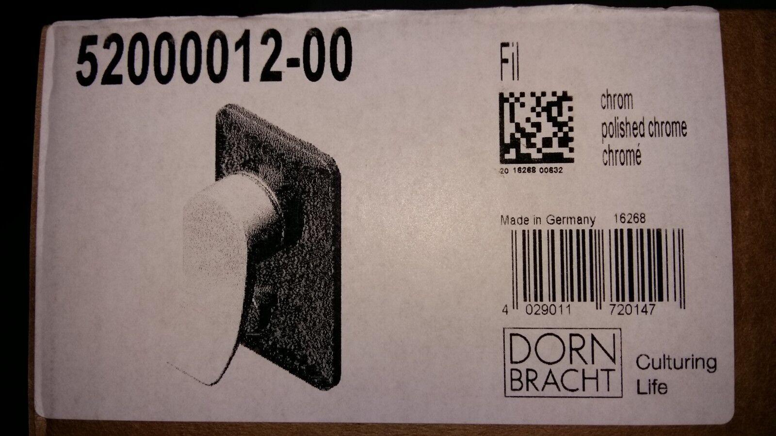 Dornbracht FIL UP-Einhandbatterie mit Umstellung chrom 52000012-00