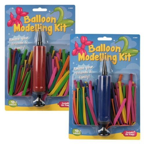 Modelling Balloon Pump Kit Sets 41 Piece Party Wedding Crafts Decoration UK NEW